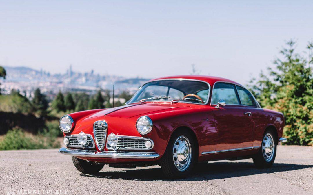 Video: Fire‑breathing Alfa Romeo Giulietta Ti spits flames at Revival