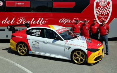 This glorious Alfa Giulia touring car is ready for the Ring
